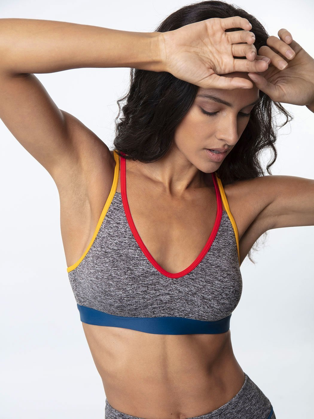 Spacedye V-Neck Bra