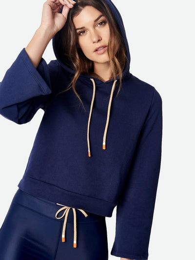 ENSMBL Tops Off Duty Pullover Hoodie, Navy Navy / XS / ENST50033