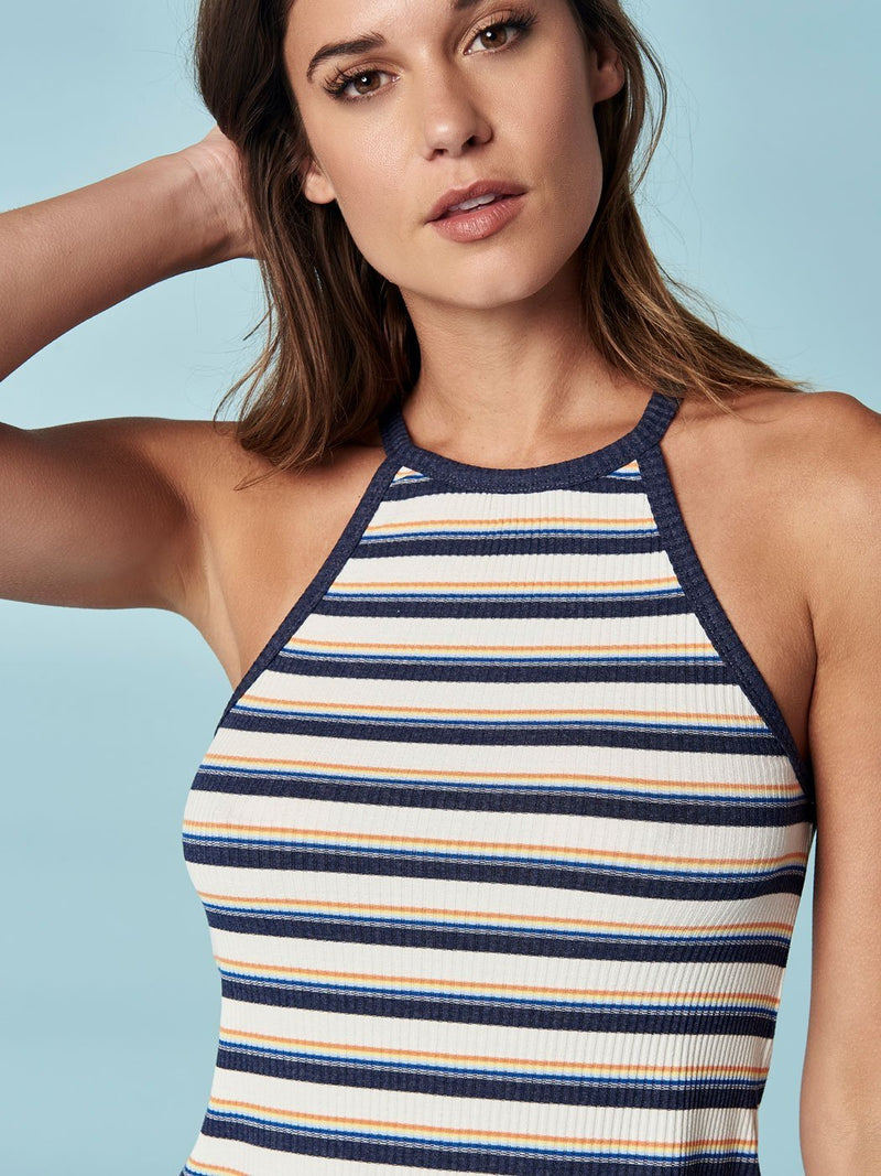 Retro Rainbow Stripe Tank, Final Sale