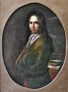 Dubrovnik baroque poet Ivan Gundulić; the oldest known portrait with a cravat, 1622.
