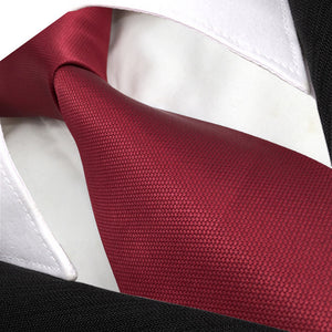 Solid Red Tie - Tom's Tie Shop
