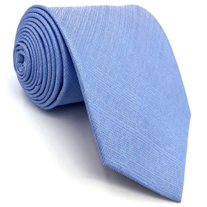 Solid Sky Blue Tie - Tom's Tie Shop