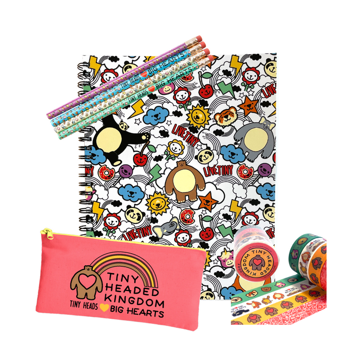THK Animal Party Stationery Bundle