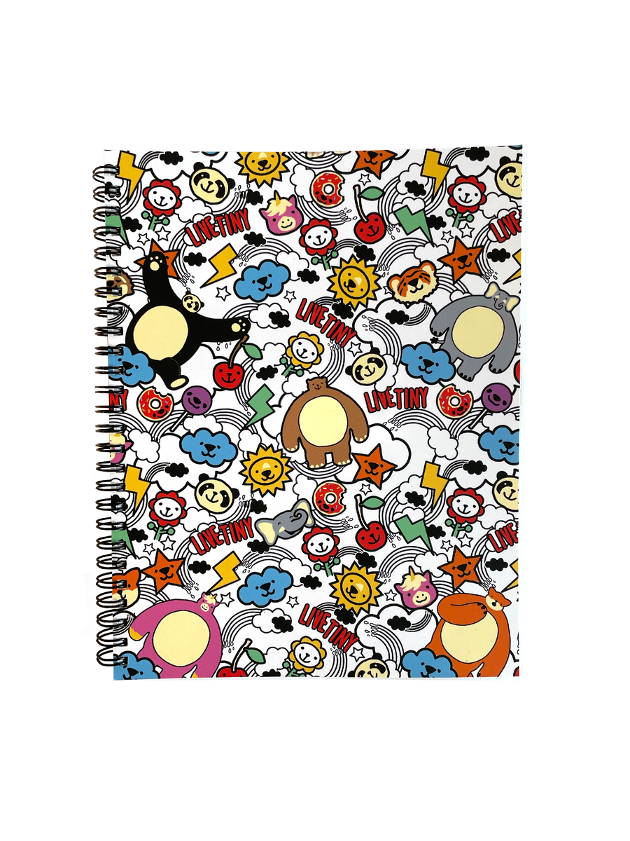 THK Animal Party Notebook w/ Free Pencil Pack!