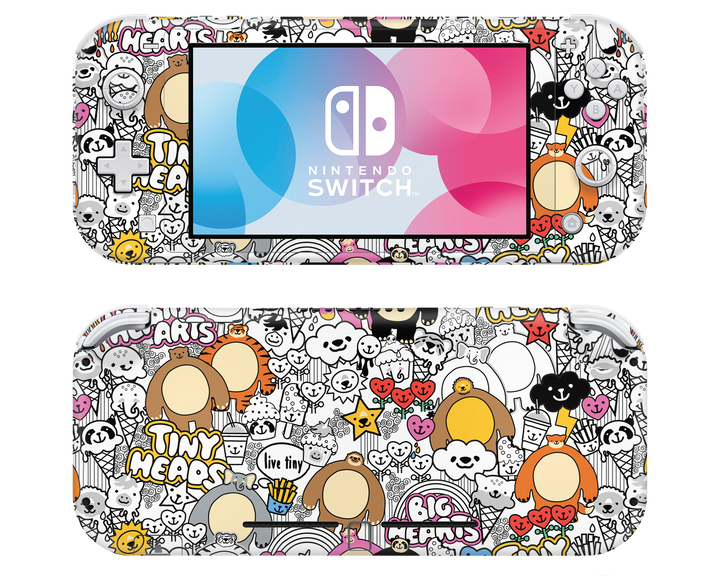 "THK x LaboTech Nintendo Switch LITE ""Animal Party"" Skin"