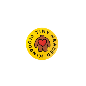 THK Circle Logo Sticker