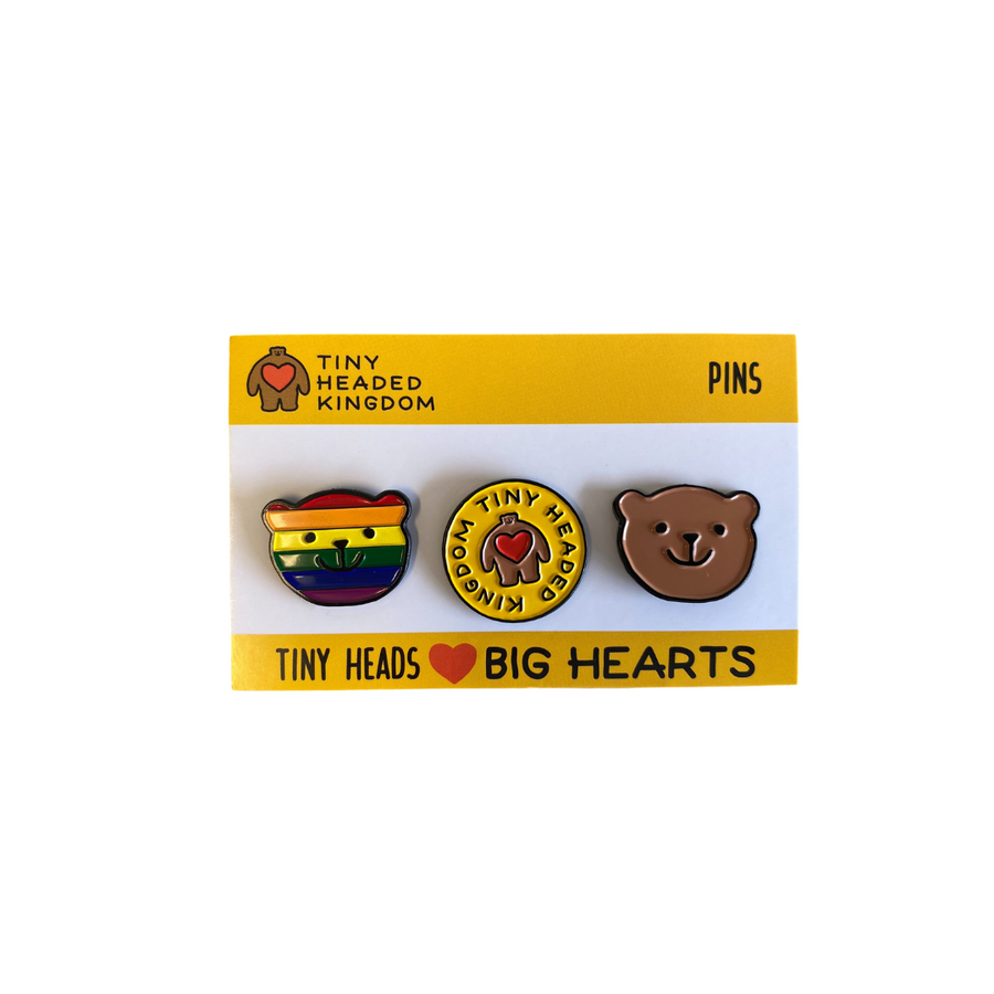 Pip Pride Pin Set