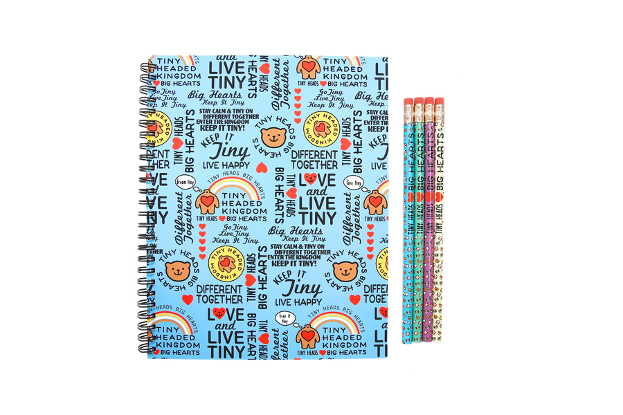 Love & Live Tiny Notebook w/ Free Pencil Pack!