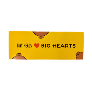 THK Tiny Heads Big Hearts Sticker