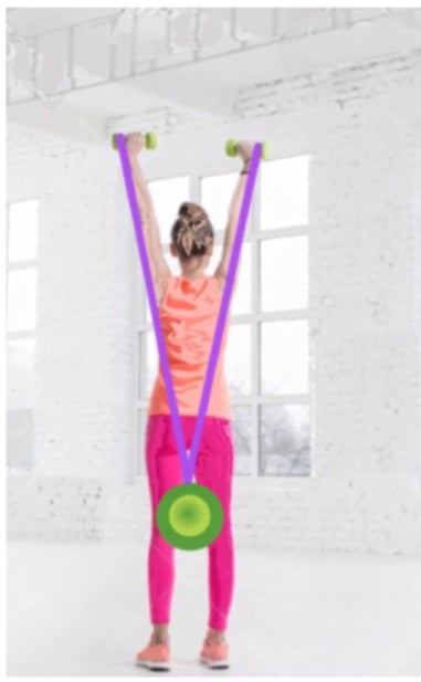 Fix your posture with this exercise unit secured by Wrap & Roll safety belt