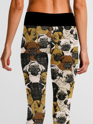 Social Pug Leggings