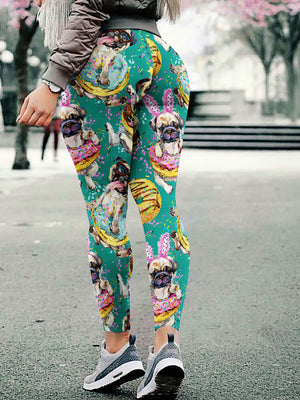 Cute Pugs Leggings