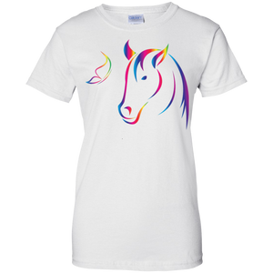Rainbow Butterfly Horse T-shirt