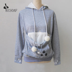 Cat Holder Sweatshirt