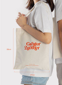 Greater 2gether Tote bag