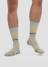 Load image into Gallery viewer, Greater 2gether Light Grey Embroidered Socks