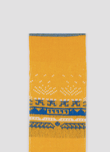 Load image into Gallery viewer, Greater 2gether Yellow Embroidered Socks