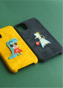 Flying Wizard Suede Phonecase