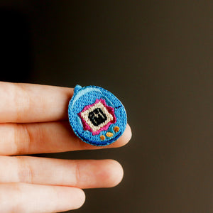 Tamagotchi Embroidery Pin