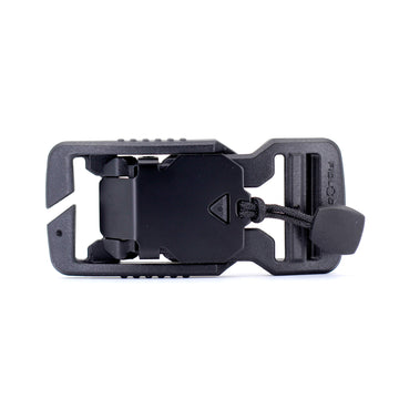 Fidlock V-buckle 25mm Split Bar Black with Pull - Alpinhound Pet Co.