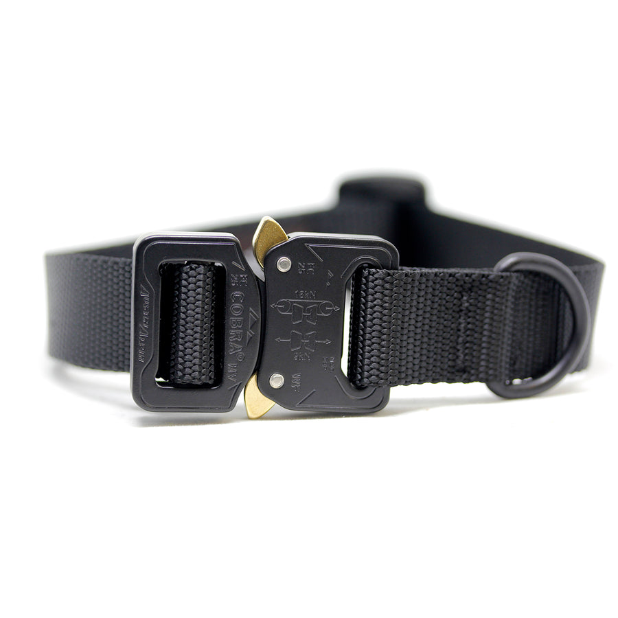 Cobra Collar Black - Alpinhound Pet Co.