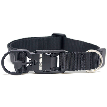 Black Friday Collar with Fidlock Magnetic Buckle - Alpinhound Pet Co.
