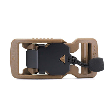 Fidlock V-buckle 25mm Earth Brown with Pull - Alpinhound Pet Co.