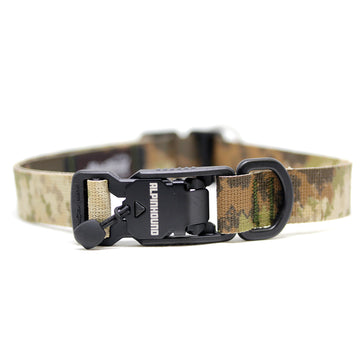 Camo Dog Collar with Fidlock Magnetic Buckle - Alpinhound Pet Co.