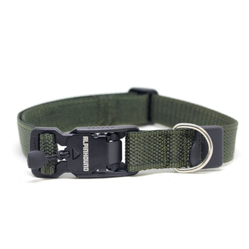 Foliage Green Dog Collar with Fidlock® Magnetic Buckle - Alpinhound Pet Co.