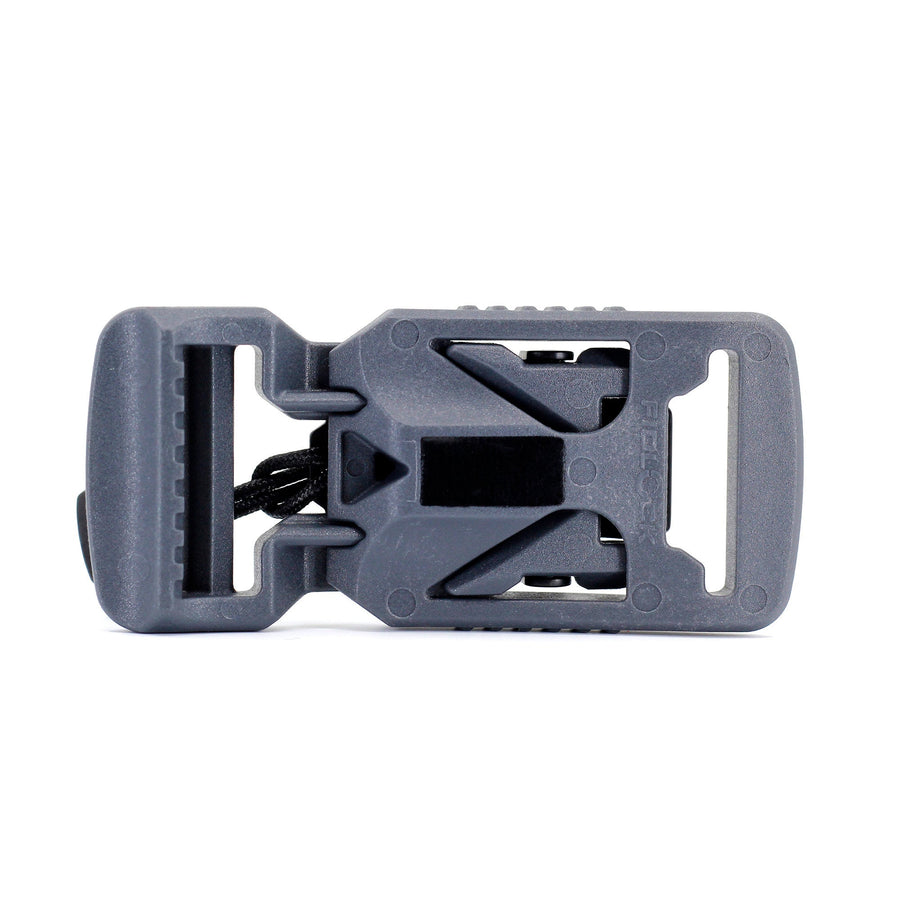 Fidlock V-buckle 25mm Gray with Pull - Alpinhound Pet Co.