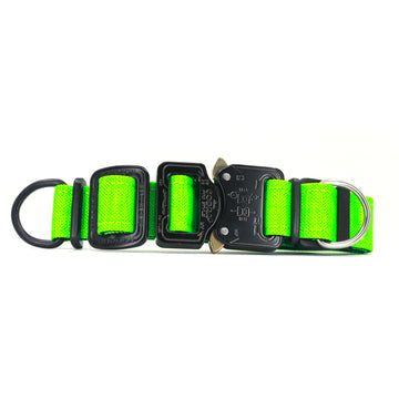 COBRA® Cordura Collar Hot Green