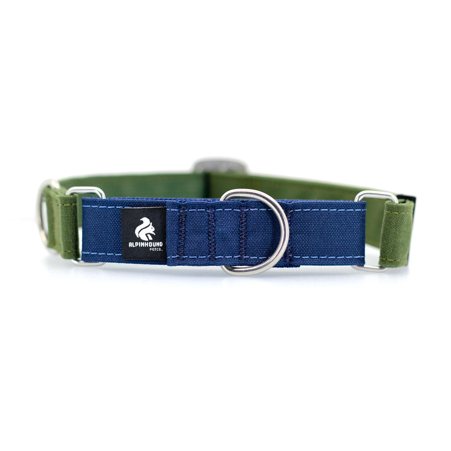 STNDRD Martingale Navy and Olive