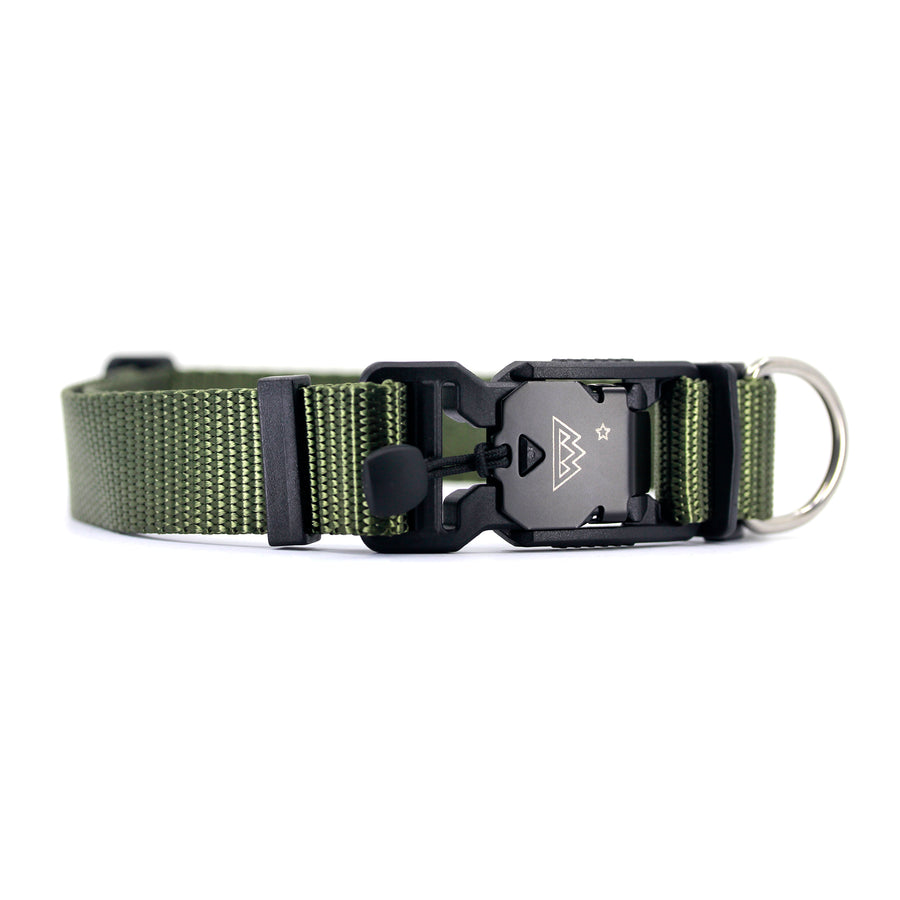 VBuckle Collar Olive Drab