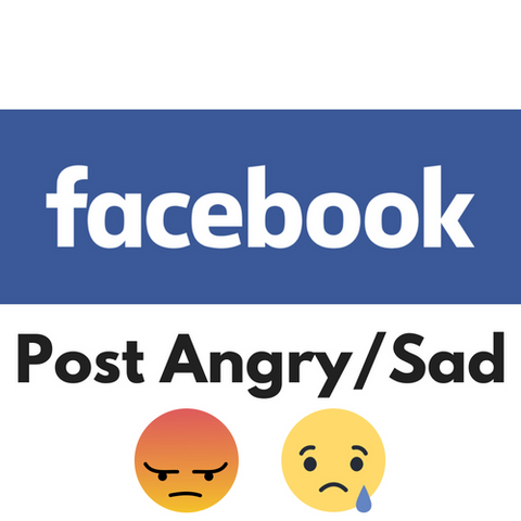 Facebook Post/Photo Angry/Sad