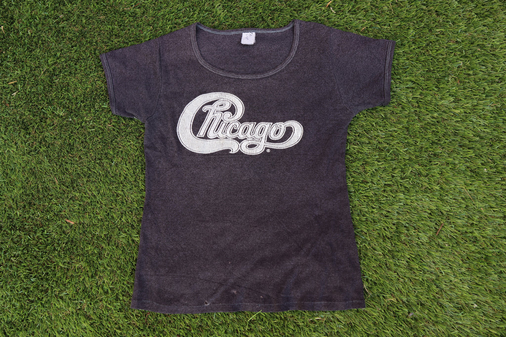 Vintage Chicago Band T-shirt S/M