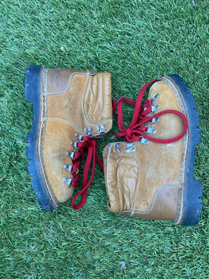 Vtg Hiking Trail Boots - size 8