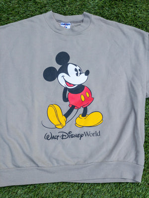 Grey Mickey Mouse sweatshirt - Large