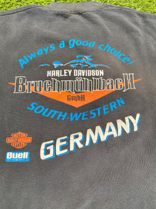German Harley Davidson sweatshirt