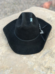 Vintage re-done Stetson cowboy Hat
