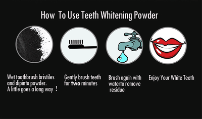 Activated Charcoal Powder - Natural Teeth Whitener