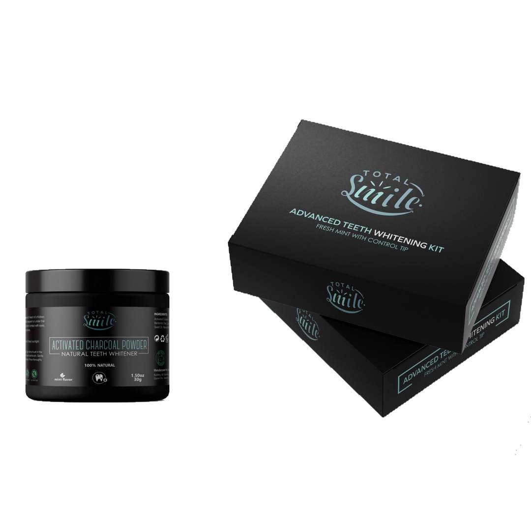 Teeth Whitening Kit Plus Activated Charcoal