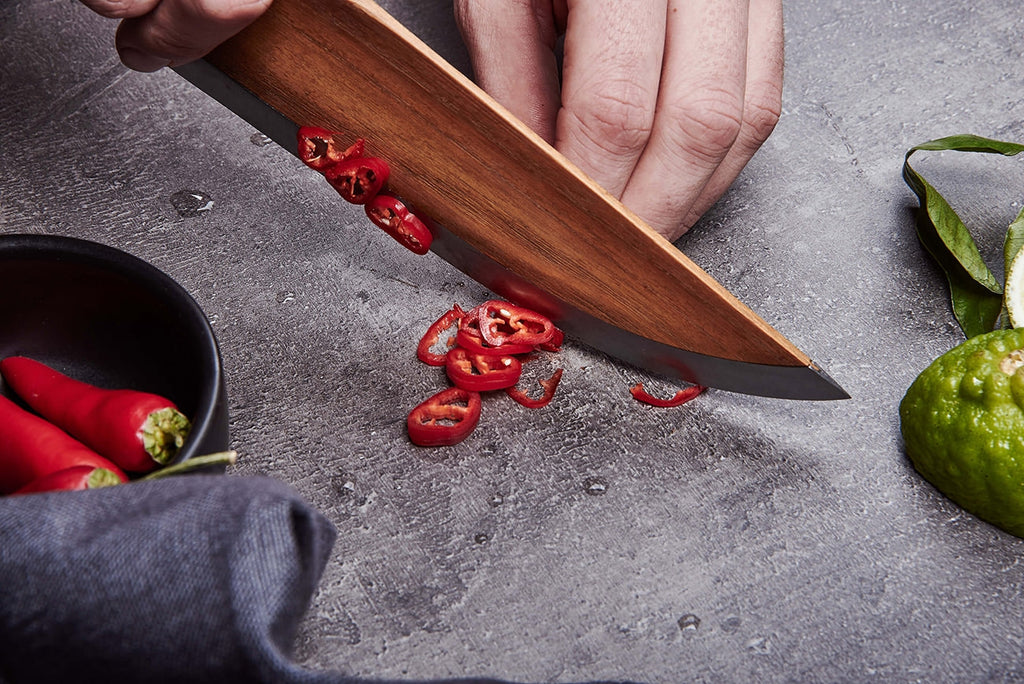 Skid Wooden Chef's Knife