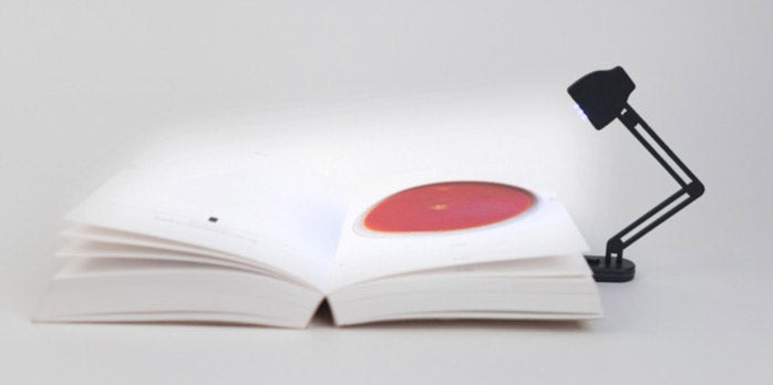 Slim Book Lamp