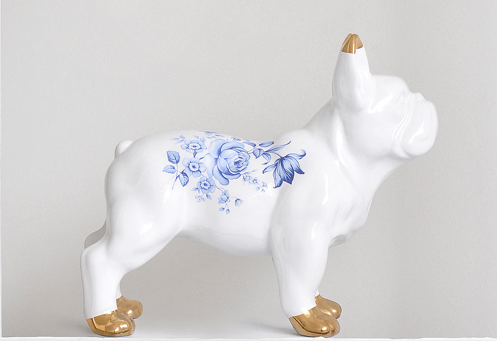 Delft Ceramic Bulldog