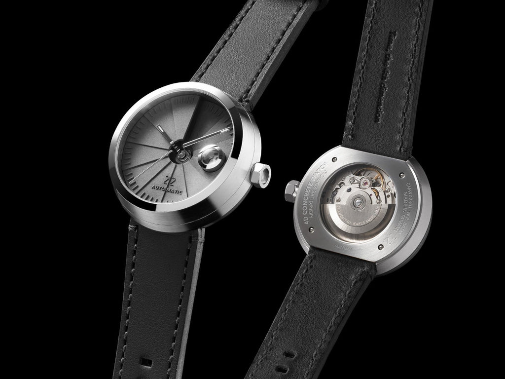 4D Concrete Watch Automatic Signature Edition