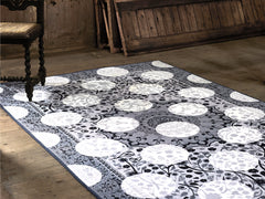 Monochrome Magic Rug