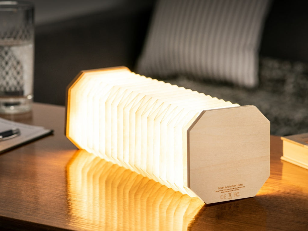 Accordion Lamp