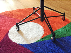 Color Wheel Rug 1000
