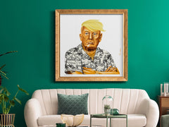 Hipstory Prints Golden Trump Limited Edition