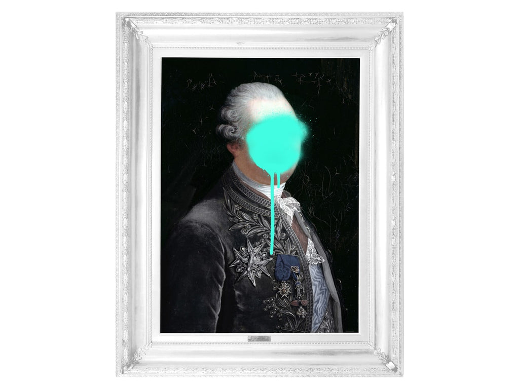 Monsieur Mint' Canvas